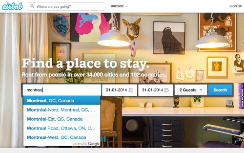 How to find AirBnB accommodation