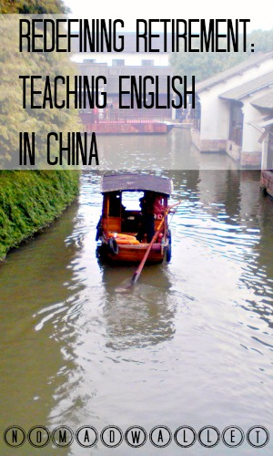 Affording Travel Interview With Ruth: Teaching English in China as Retirement