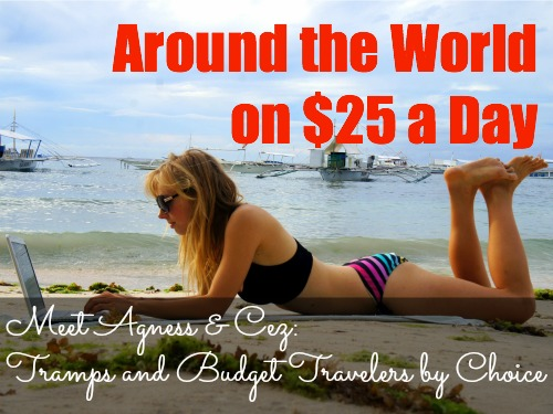 Travel around the world on $25 a day