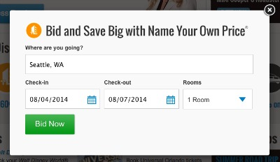 Priceline Name Your Own Price Hotels