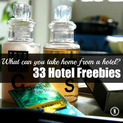 33 Free Hotel Items to Take Home