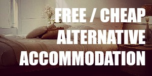 Alternative Travel Accommodation for Cheap or Free