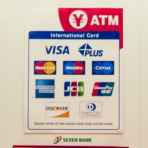 ATMs in Japan that accept international cards
