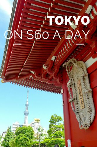 Cheap Tokyo — Travel for $60 a Day!