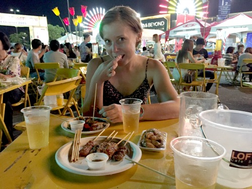 Food in Thailand is cheap!