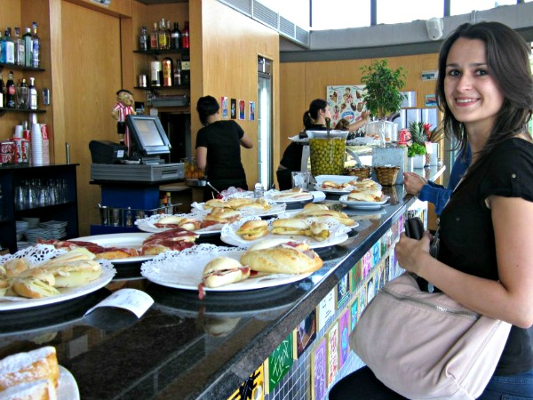 Travel blogger Sofie in Bilbao, Spain