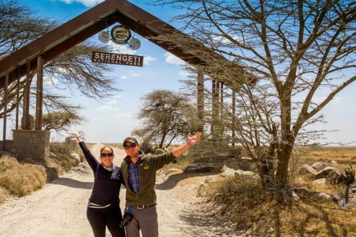 Sold everything and traveled to Serengeti, Tanzania