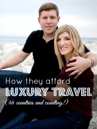 How they afford luxury travel