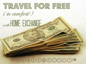 Free travel accommodation through home exchange