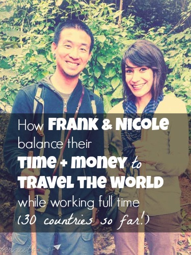 How this couple affords travel