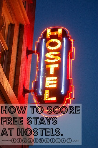 Affording Travel Interview With Eric: Free Accommodation at Hostels