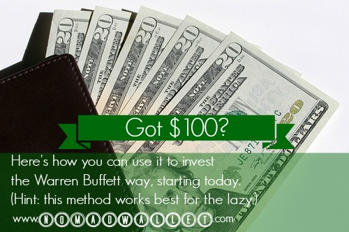 Got $100? Here's a Foolproof, Hands-Free Way to Start Investing (as Recommended by Warren Buffett)