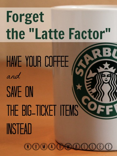 Alternative to the latte factor