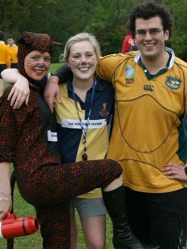 Australian gap year students in the UK