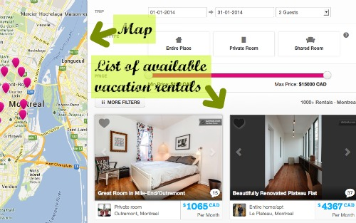 How to book AirBnB accommodation