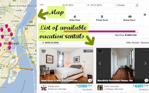 如何預訂住宿的Airbnb