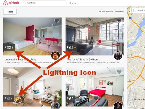 製作的Airbnb-即時圖書搜索結果