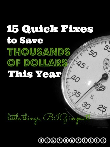15 Easy Five-Minute Fixes to Save Thousands of Dollars This Year