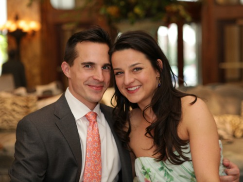Kayci and Joe's intimate wedding