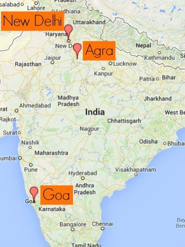 Plan Sean's trip to India