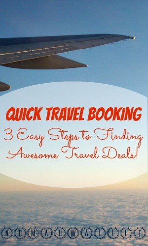 Quick Trip Booking: 3 Easy Steps to Finding Travel Deals