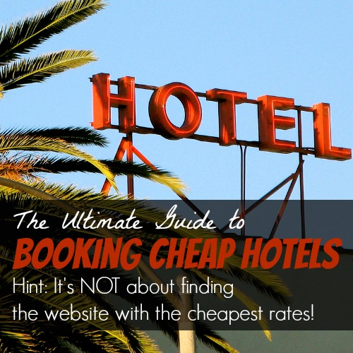 Guide to booking cheap hotels