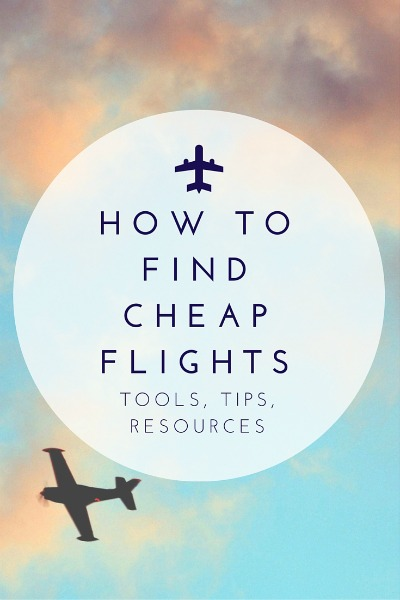 Resources for finding cheap airfare deals
