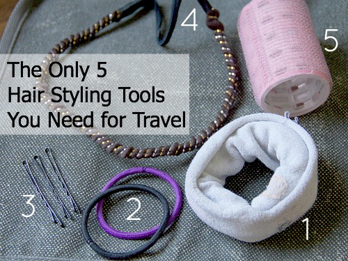 The only hair styling tools you need for travel