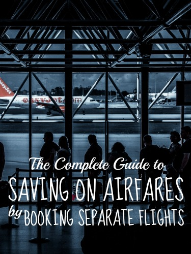 Save on airfares by booking separate flights
