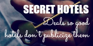 Book Secret Hotels for Cheap Accommodation