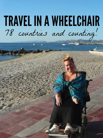 How Kirsten Travels in a Wheelchair to Almost 80 Countries