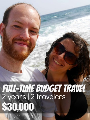 Affording Travel Interview With Dale and Franca: Full-time Travel for 2 Years on $30,000 Savings