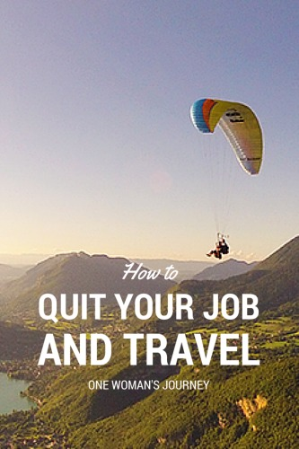 How One Traveler Quit Her Job and Built an Online Business