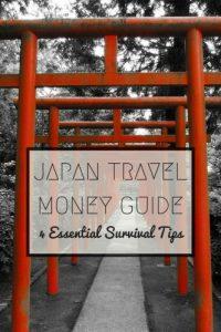Japan Travel Money Guide