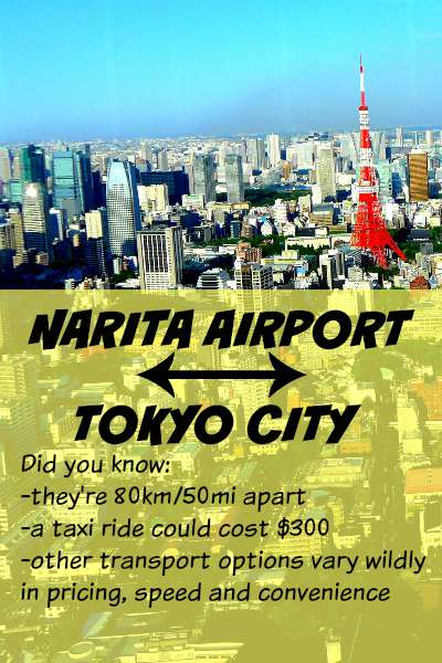 How to Get from Narita Airport to Tokyo