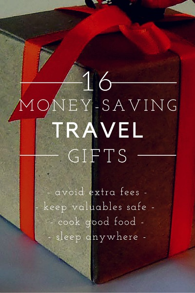 16 gift ideas that will help the travelers in your life save money on various travel stuff